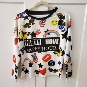 Party Now Happy Hour Blouse